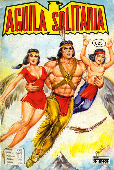 Cover for Aguila Solitaria (Editora Cinco, 1976 ? series) #625
