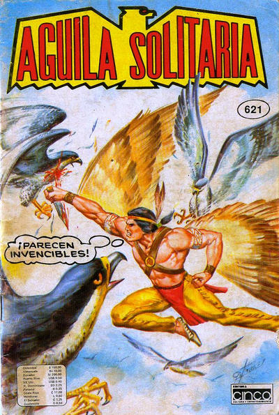 Cover for Aguila Solitaria (Editora Cinco, 1976 ? series) #621