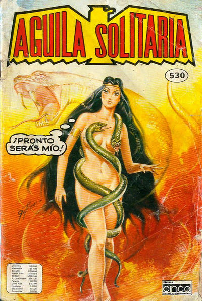 Cover for Aguila Solitaria (Editora Cinco, 1976 ? series) #532