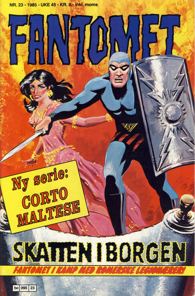Cover for Fantomet (Semic, 1976 series) #23/1985