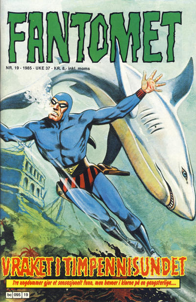 Cover for Fantomet (Semic, 1976 series) #19/1985