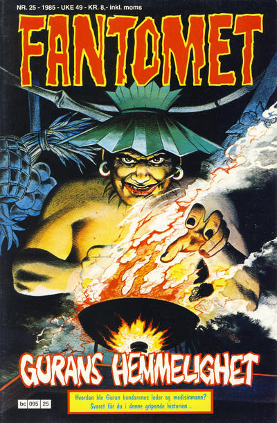 Cover for Fantomet (Semic, 1976 series) #25/1985