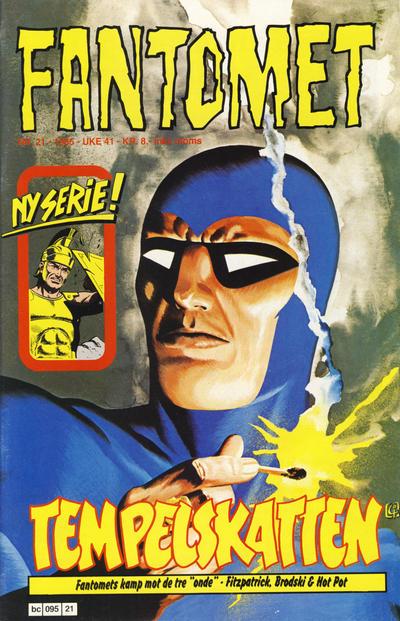 Cover for Fantomet (Semic, 1976 series) #21/1985