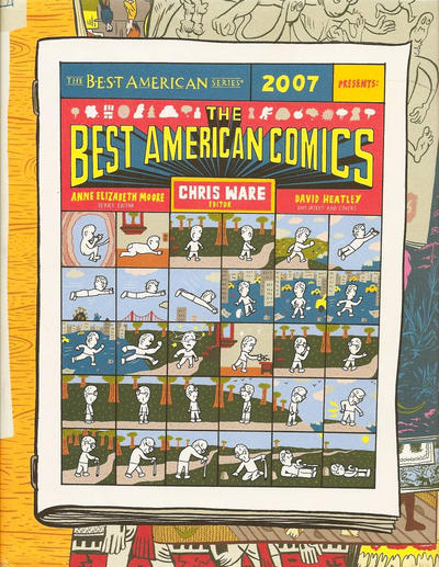 Cover for The Best American Comics (Houghton Mifflin, 2006 series) #2007
