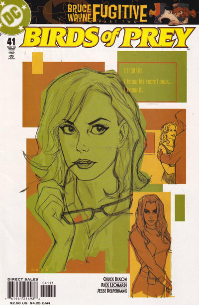 Cover for Birds of Prey (DC, 1999 series) #41 [2nd printing]