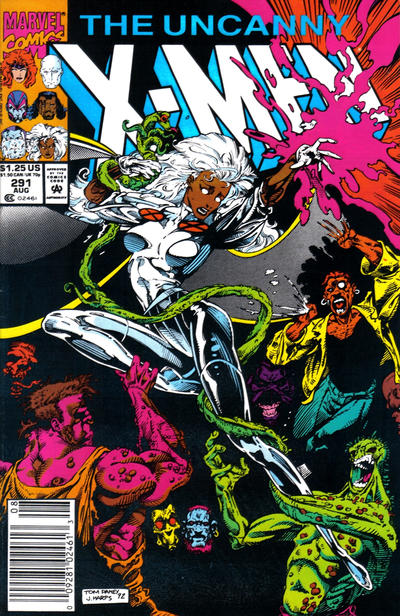 Cover for The Uncanny X-Men (Marvel, 1981 series) #291