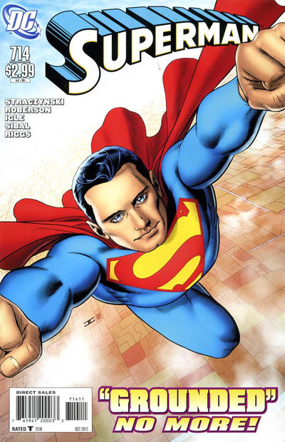 Cover for Superman (DC, 2006 series) #714 [Direct]