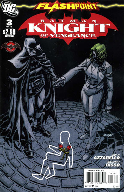 Cover for Flashpoint: Batman Knight of Vengeance (DC, 2011 series) #3