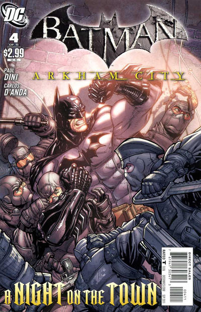 Cover for Batman: Arkham City (DC, 2011 series) #4