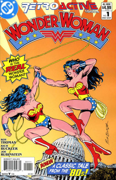 Cover for DC Retroactive: Wonder Woman - The '80s (DC, 2011 series) #1