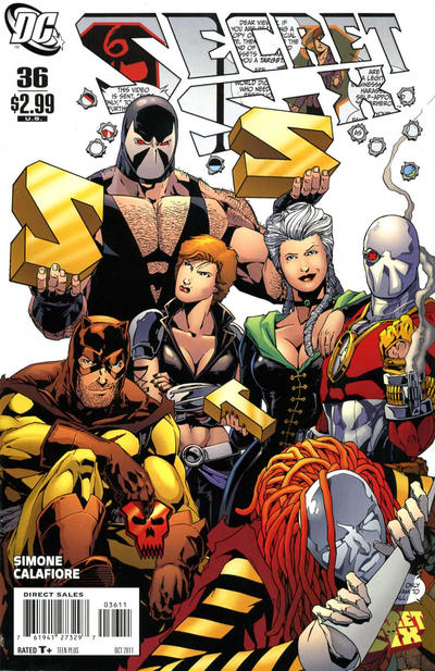Cover for Secret Six (DC, 2008 series) #36