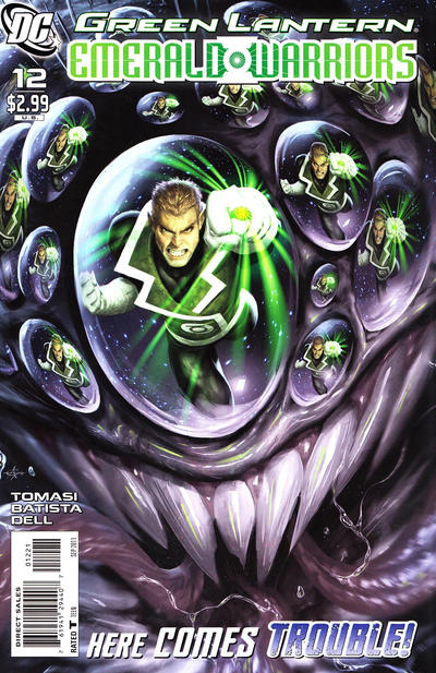 Cover for Green Lantern: Emerald Warriors (DC, 2010 series) #12 [Alex Garner Variant]