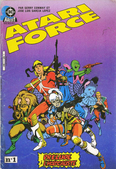 Cover for Atari Force (Arédit-Artima, 1985 series) #1