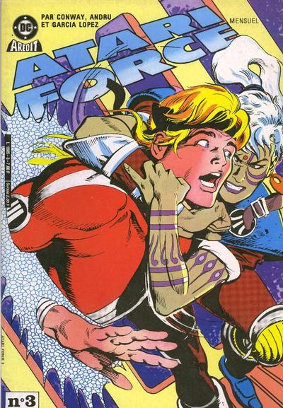Cover for Atari Force (Arédit-Artima, 1985 series) #3