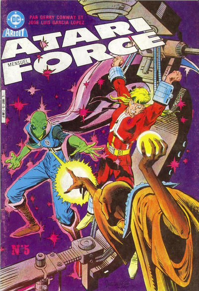 Cover for Atari Force (Arédit-Artima, 1985 series) #5