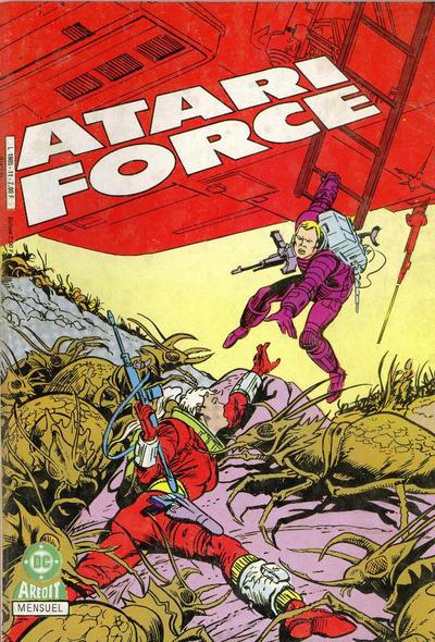 Cover for Atari Force (Arédit-Artima, 1985 series) #11