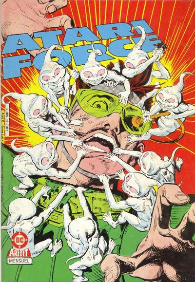 Cover for Atari Force (Arédit-Artima, 1985 series) #12