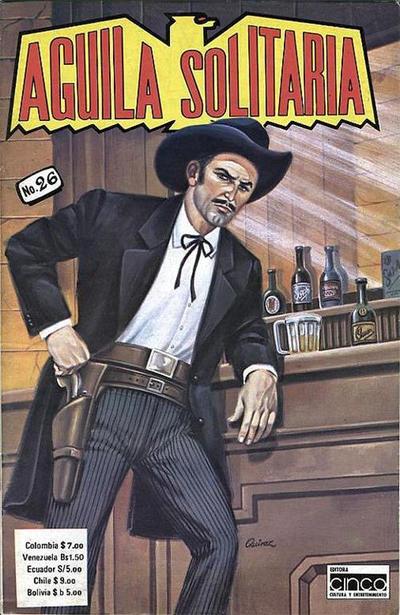 Cover for Aguila Solitaria (Editora Cinco, 1976 ? series) #26