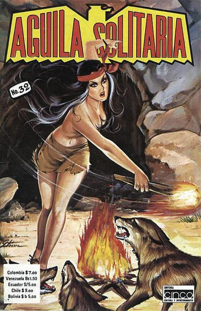 Cover for Aguila Solitaria (Editora Cinco, 1976 ? series) #32