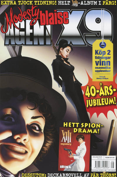 Cover for Agent X9 (Egmont, 1997 series) #8/2011