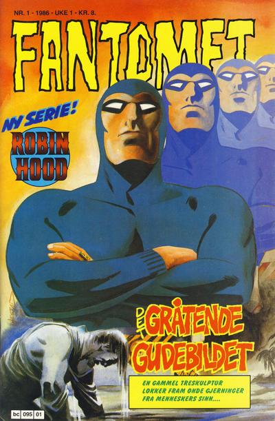 Cover for Fantomet (Semic, 1976 series) #1/1986