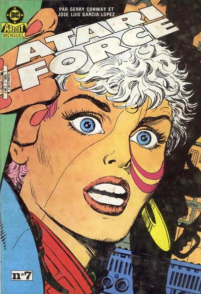 Cover for Atari Force (Arédit-Artima, 1985 series) #7