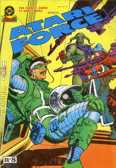 Cover for Atari Force (Arédit-Artima, 1985 series) #8