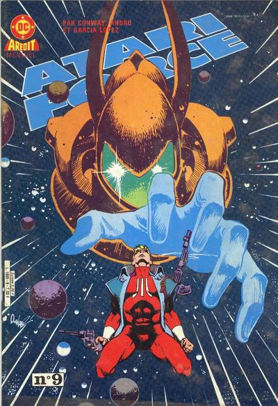Cover for Atari Force (Arédit-Artima, 1985 series) #9
