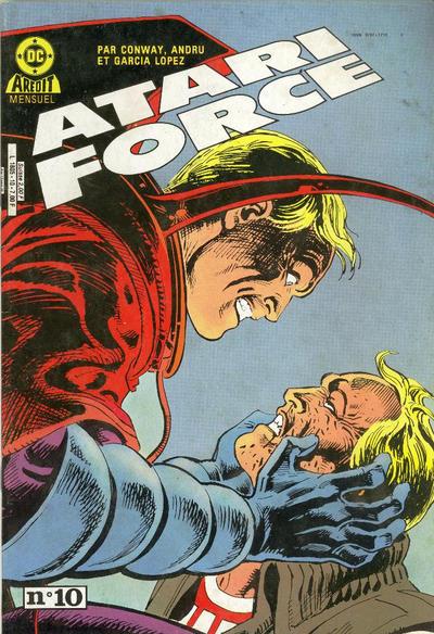 Cover for Atari Force (Arédit-Artima, 1985 series) #10