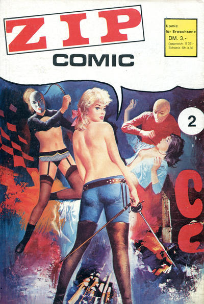 Cover for Zip (Der Freibeuter, 1972 series) #2