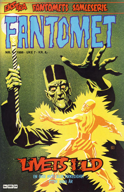 Cover for Fantomet (Semic, 1976 series) #4/1986