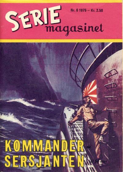 Cover for Seriemagasinet (Serieforlaget / Se-Bladene / Stabenfeldt, 1951 series) #6/1975