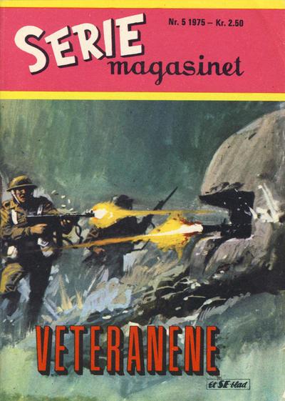 Cover for Seriemagasinet (Serieforlaget / Se-Bladene / Stabenfeldt, 1951 series) #5/1975