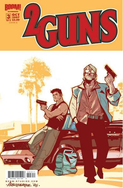 Cover for Two Guns (Boom! Studios, 2007 series) #3 [Cover B]