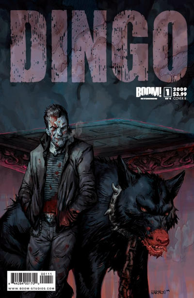 Cover for Dingo (Boom! Studios, 2009 series) #1 [Cover B]