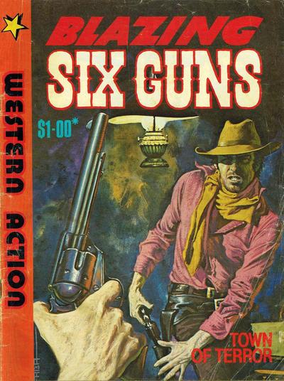 Cover for Blazing Six Guns (Gredown, 1984 ? series)