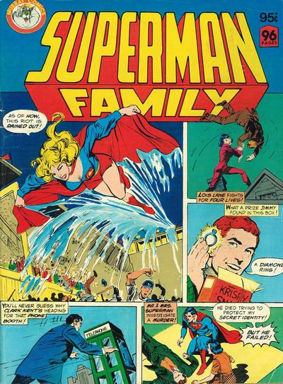 Cover for Superman Family (K. G. Murray, 1982 series) #[nn]