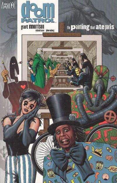 Cover for Doom Patrol (DC, 1992 series) #2 - The Painting That Ate Paris [Second Printing]