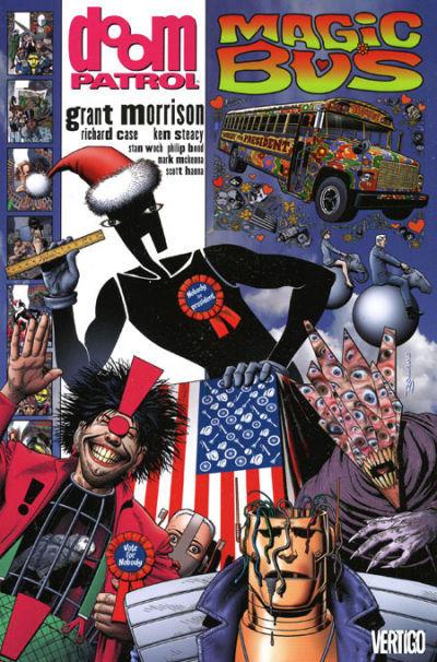 Cover for Doom Patrol (DC, 1992 series) #5 - Magic Bus