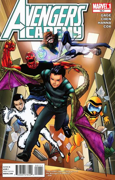Cover for Avengers Academy (Marvel, 2010 series) #14.1