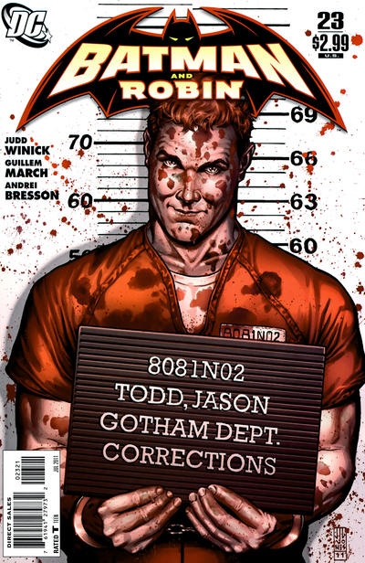 Cover for Batman and Robin (DC, 2009 series) #23