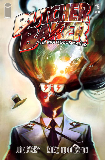 Cover for Butcher Baker, the Righteous Maker (Image, 2011 series) #5
