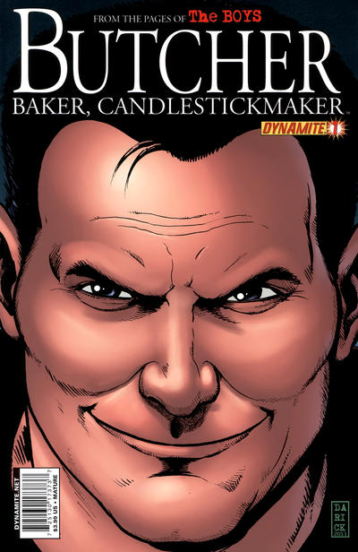 Cover for The Boys: Butcher, Baker, Candlestickmaker (Dynamite Entertainment, 2011 series) #1