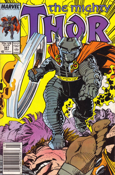 Cover for Thor (Marvel, 1966 series) #381 [Direct]