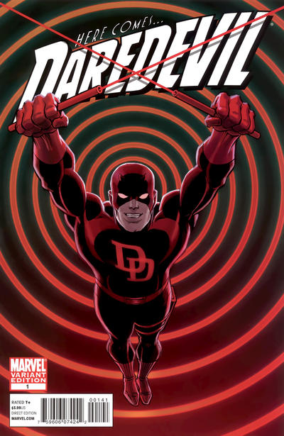 Cover for Daredevil (Marvel, 2011 series) #1 [Adams Variant]