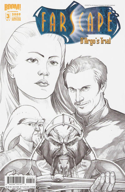 Cover for Farscape: D'Argo's Trial (Boom! Studios, 2009 series) #3 [Cover C - Limited Edition]