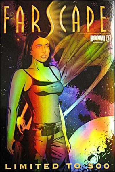 Cover for Farscape (Boom! Studios, 2008 series) #1 [Wondercon]