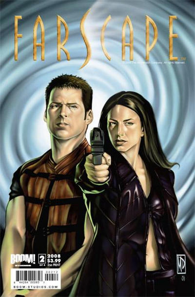 Cover for Farscape (Boom! Studios, 2008 series) #2 [Challenger Comics Exclusive]