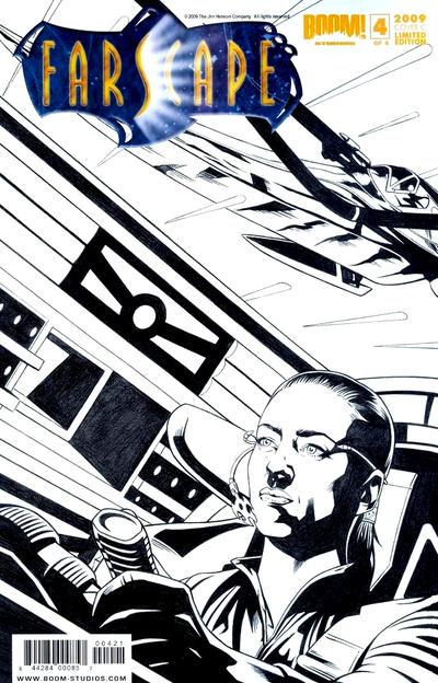 Cover for Farscape (Boom! Studios, 2008 series) #4 [Challenger Comics Exclusive]