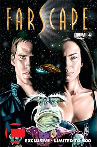 Cover for Farscape (Boom! Studios, 2008 series) #4 [2nd Print]